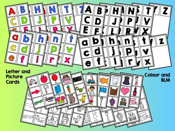 Alphabet Sorts Pack (Colour and BLM)