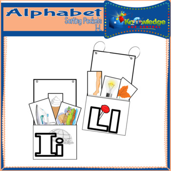 Alphabet Sorting Pockets Letters I to L