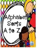 Alphabet Sorts ( Cut and Paste Activity)