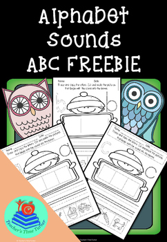Alphabet Sound ABC FREEBIE
