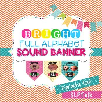Speech Sound Banner - Bright Room Decor