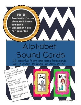 Alphabet Sound Cards