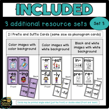 Letter and Sound Cards- Level 1