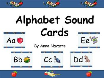 Alphabet Sound Cards w/Power Point