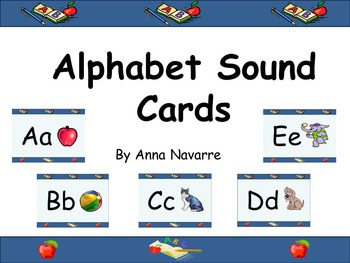 Alphabet Sound Cards w/Power Point