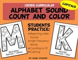 Alphabet Sound - Count and Color [Capitals]
