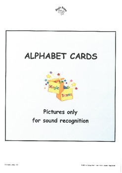 Alphabet Sound Display Cards/PICTURE only