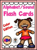 Phonics - Alphabet/Sound Flash Cards (Color Edition)