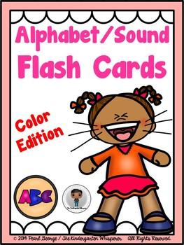 Alphabet/Sound Flash Cards (Color Edition)