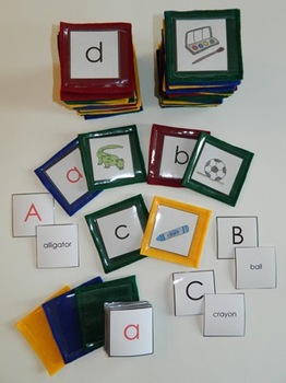 Alphabet - Sound, Letter, Word Literacy Manipulative for Language Arts Centers
