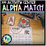 Alphabet Sound Match Activity Center