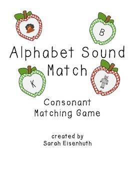 Alphabet Sound Match Apples