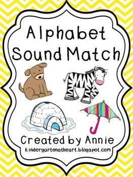 Alphabet Sound Match - Beginning Sounds