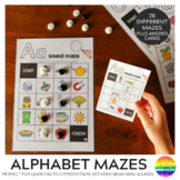 Alphabet Sound Mazes