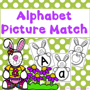 Alphabet Match (Letters and Beginning sounds)