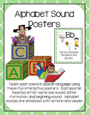 Alphabet Sound Posters (Phonics and Phonemic Awareness)