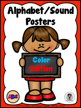 Phonics - Alphabet/Sound Posters (Color Edition)