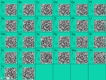 Alphabet Sound QR Code Cards FREE