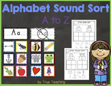 Alphabet Sound Sort A-Z