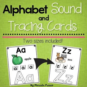 Alphabet Sound and Tracing Cards