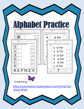 Alphabet Letters and Sounds; Phonemic Awareness; RTI; Beginning Readers