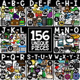 Alphabet Clipart MEGA Bundle
