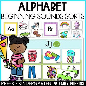 Alphabet Sort & Classify Mats (Beginning Sounds)