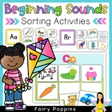 Alphabet Sort & Classify Mats (Beginning Sounds)