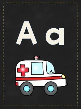 Alphabet Sounds Ancho Charts