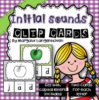 Alphabet Sounds Clip Cards