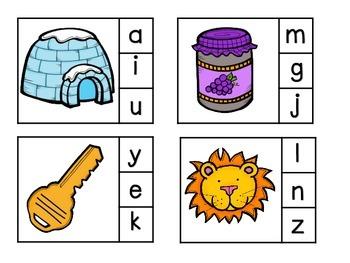 Alphabet Sounds Clipit