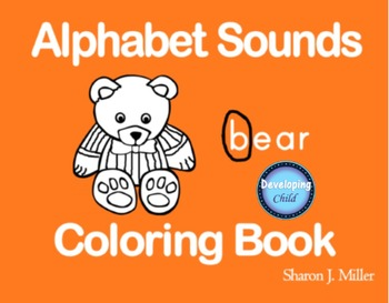 Alphabet Sounds Coloring Book