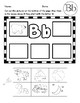 Alphabet Sounds Cut and Past Worksheets!