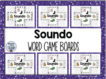 Alphabet Sounds Game Boards