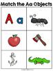 Alphabet Sounds Matching Mats {NO DITTOS}