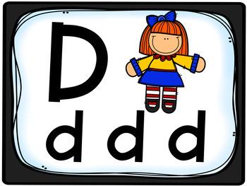 Alphabet Sounds PowerPoint & printables