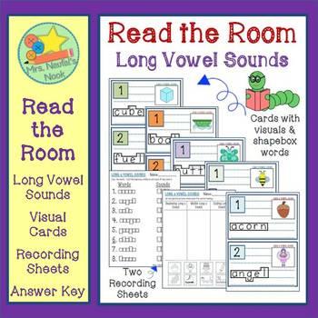 Alphabet Sounds Read the Room Write the Room