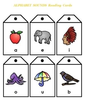 Alphabet Sounds Reading Cards