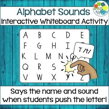 Alphabet Sounds SmartBoard Activity