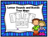 Alphabet Letter Sounds and Blends Tree Maps