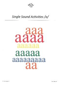 SATPIN Alphabet Sounds /a/