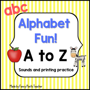 Alphabet Sounds and Printing