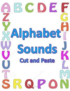 Alphabet Sounds - cut and paste