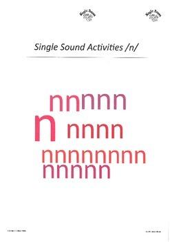 SATPIN Alphabet Sounds /n/
