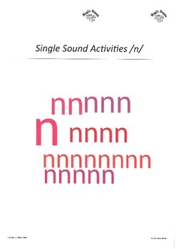 SATPIN Alphabet Sounds /n/