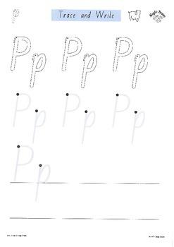 SATPIN Alphabet Sounds /p/