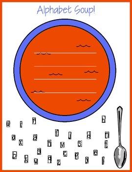 Alphabet Soup! - ABC order