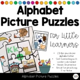 Alphabet Soup - ABC Self-Correcting Picture Puzzles