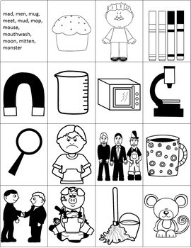 Alphabet Letter Picture Cards for Anchor Charts & Sorting - Alphabet Soup