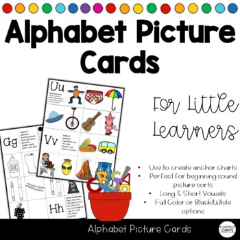 Alphabet Soup - Alphabet / Letter Picture Cards